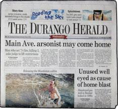 Herald is an award winning newspaper that has served la plata county
