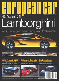 European Car European Car Is A Magazine Devoted To New Late Model