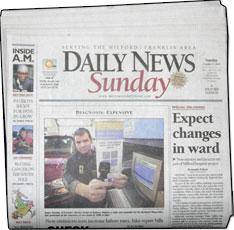 Framingham Metrowest Daily News Sun