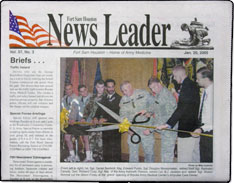 Ft. Sam News Leader