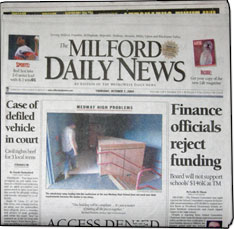 Milford Ma News >> Milford Daily News The Milford Daily News Is In The Boston Ma Dma