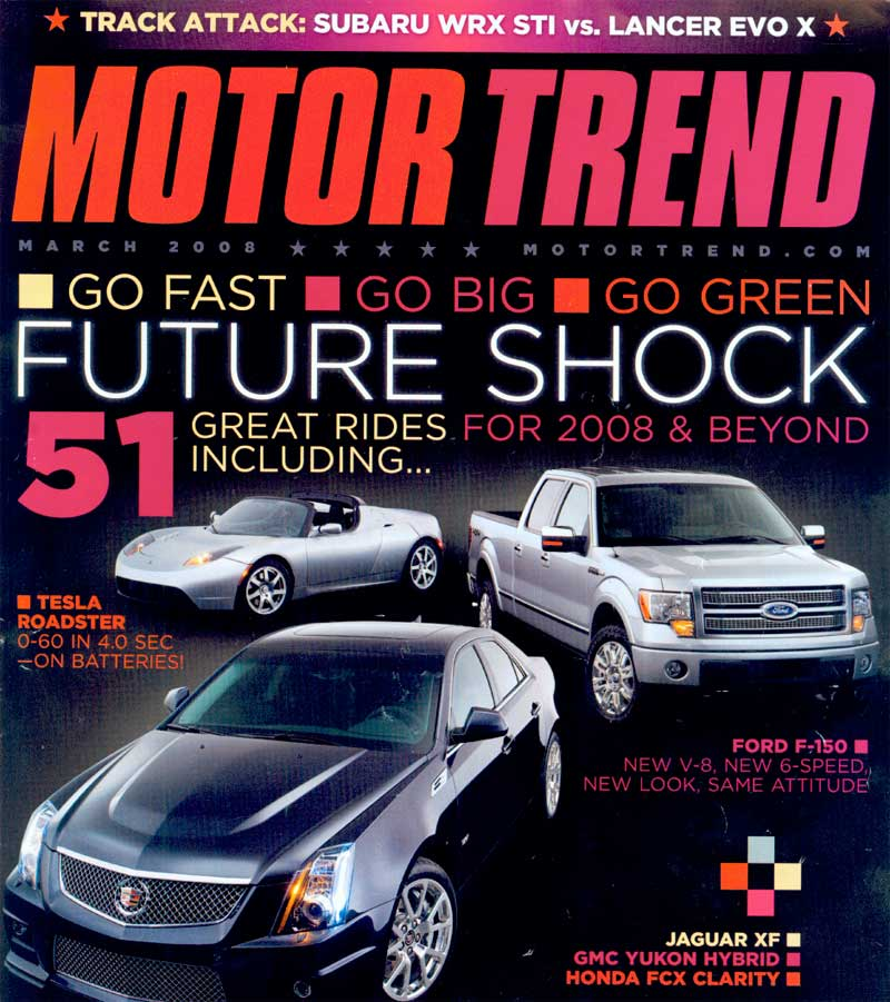 Motor Trend. Motor Trend is an automotive publication devoted to ...