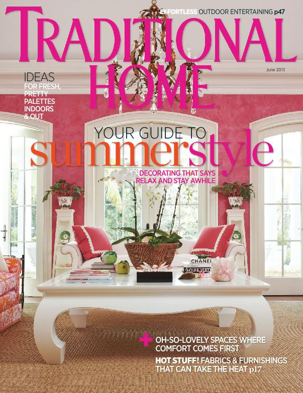 Traditional Home. A lifestyle magazine that caters to affluent ...