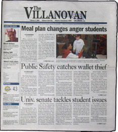 Villanova University Villanovan