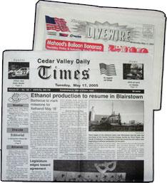 Vinton Cedar Valley Daily Times