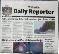 Wellsville Daily Reporter