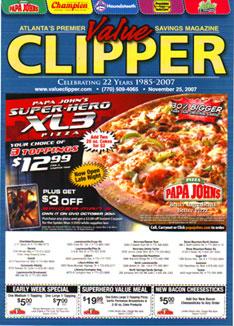coupon clippers atlanta ga