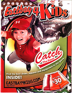 Eastbay 4 Kids Catalog Inserts