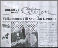 Holdrege Daily Citizen. The Holdrege Daily Citizen is in ...