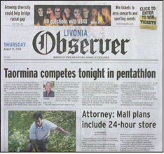 Livonia, Farmington, Plymouth, Canton Observers