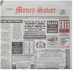 Mendota Reporter - Reporter Money Saver TMC