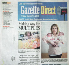 Northampton Hampshire Gazette - TMC