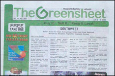 Green sheet houston tx