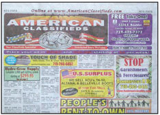 Thrifty Nickel/American Classifieds