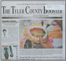 Tyler County Booster