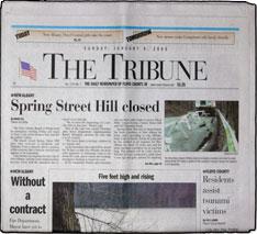New Albany Evening News & Tribune. The New Albany, Indiana