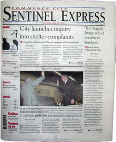 Commerce City Sentinel Express  Commerce City Sentinel Express is a