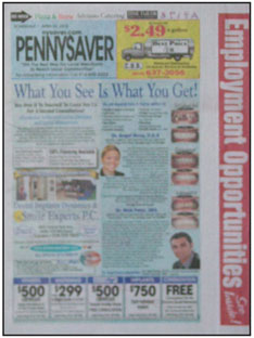Tri-State Pennysaver  The Tri-State Pennysaver is in the New